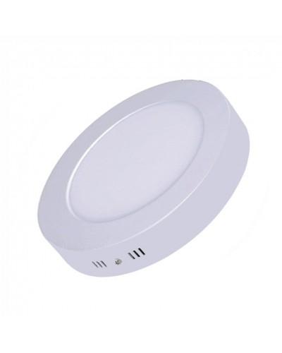 Luminária LED 12W Redonda Para Sobrepor Bivolt