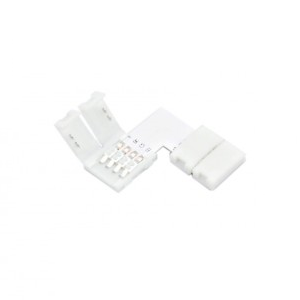 Emenda Para Fita LED RGB Curva 90º - LinkLED