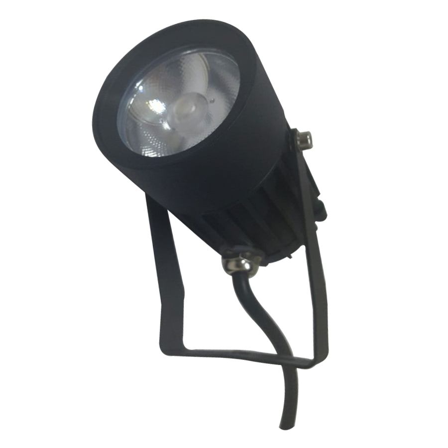 Spot LED para Jardim 12W Fixação por Espeto no Solo com Facho Fechado