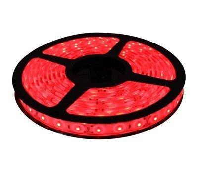 Fita LED 5050 12V Luz Vermelha IP65 Com Proteção de Silicone
