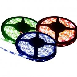 Fita LED 5050 12V IP20 Rolo com 5m  RGB Luz Colorida