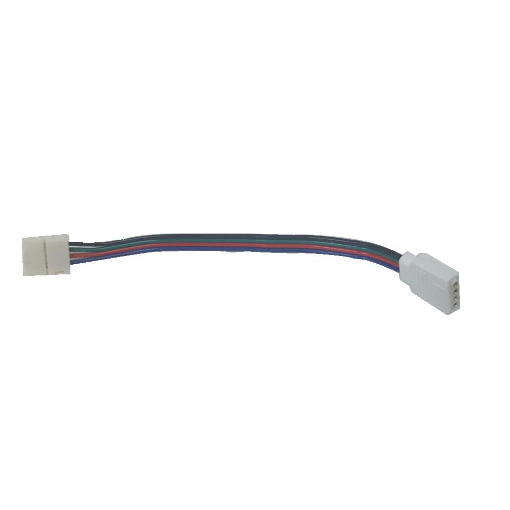 Jumper Para Fita LED RGB com Conector Fêmea 4 Pinos