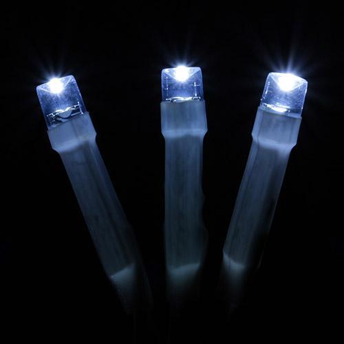 25m Luz Estático de Natal LED Luz Branca