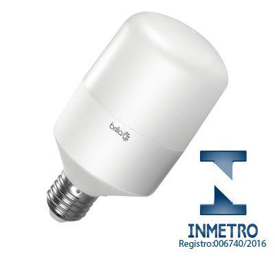 Lâmpada de LED Bulbo 15W Bivolt Ultra BRILIA Certificada pelo INMETRO