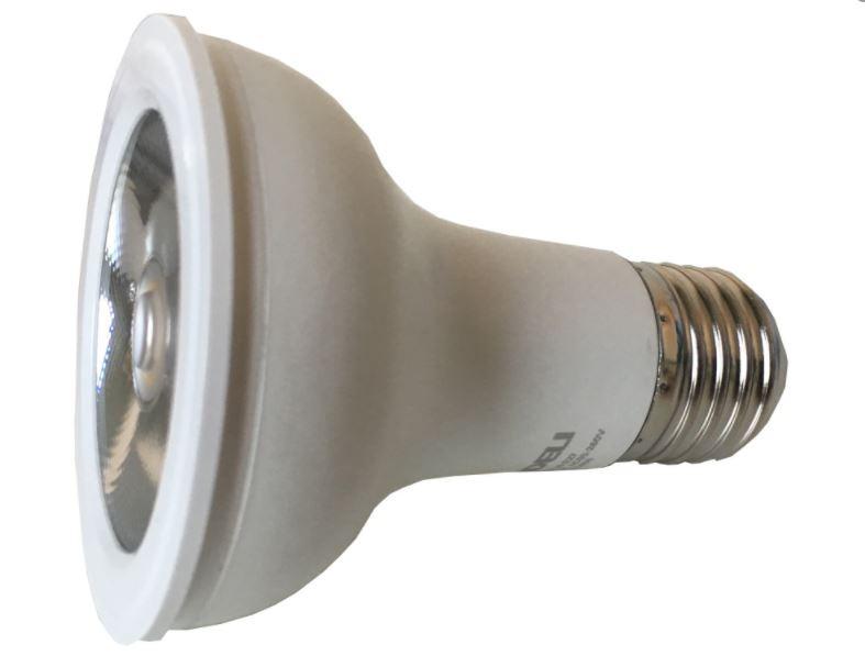Lâmpada de LED PAR 20 7W Soquete E27 Bivolt Automático