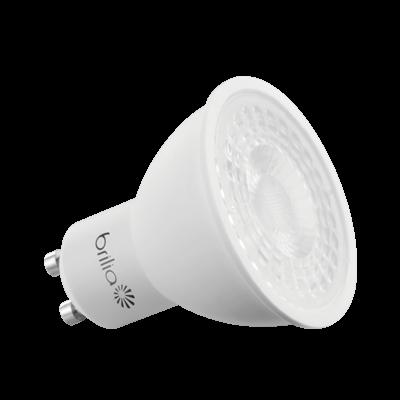 Lâmpada Dicroica LED GU10 7W Dimerizável Luz Amarelada