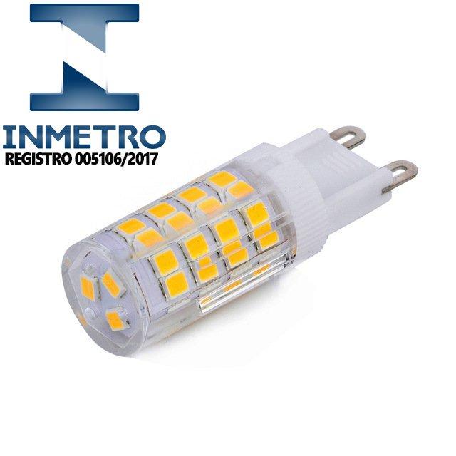 Lâmpada Halopin LED G9 3W 127V ou 220V Com Inmetro