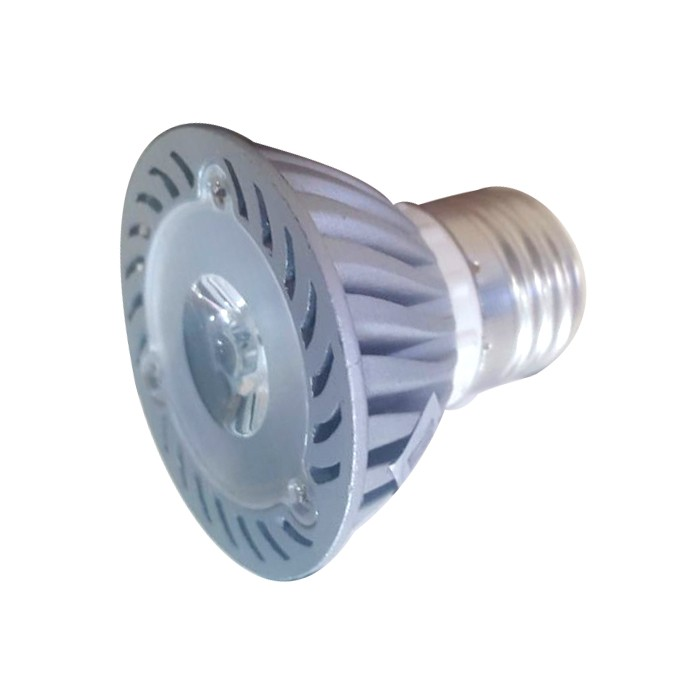 Lâmpada LED 1W PAR16 Dicroica E27