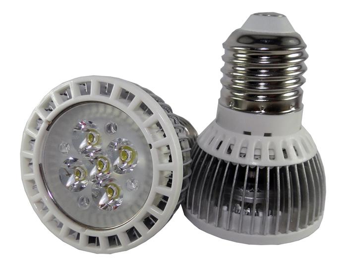 Lâmpada LED 5W PAR16 Dicroica E27