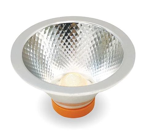 Lâmpada LED AR70 Refletora 7W Dimerizável com Driver Externo