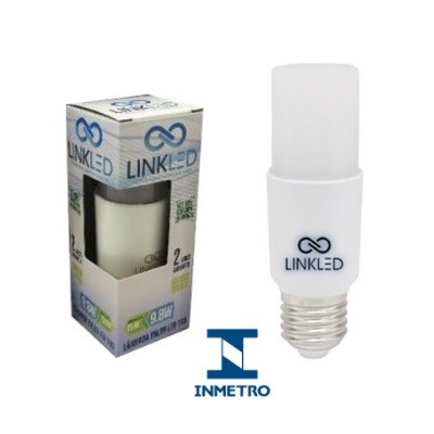 Lâmpada LED Bulbo 9,8W T40 Bivolt Luz Amarelada Certificação Inmetro