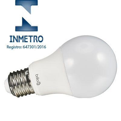 Lâmpada LED Bulbo A60 4,8W  BIVOLT BRILIA - COM INMETRO