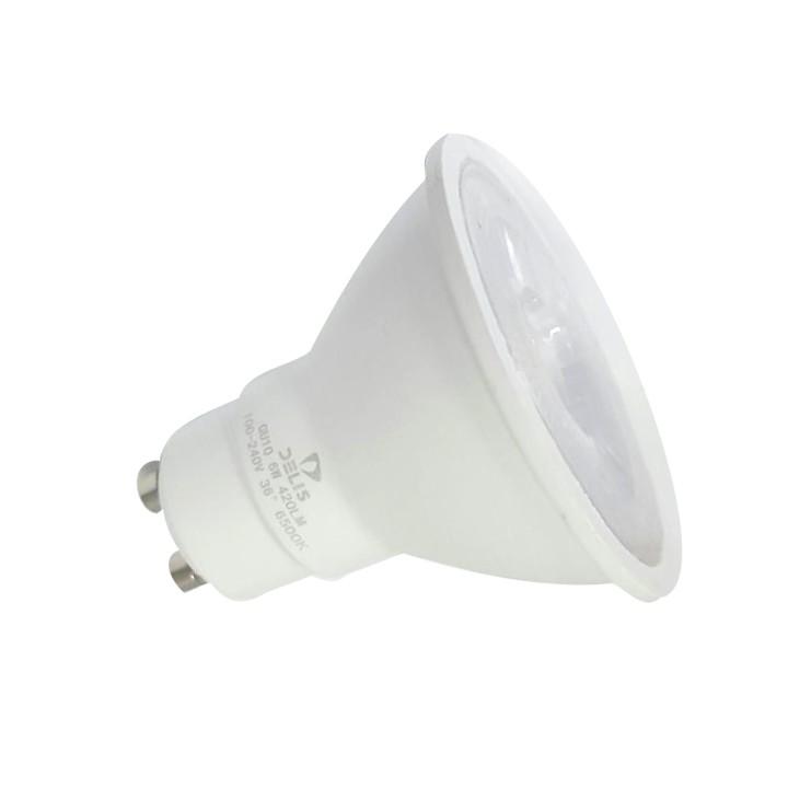 Lâmpada LED Dicroica GU10 6W Bivolt
