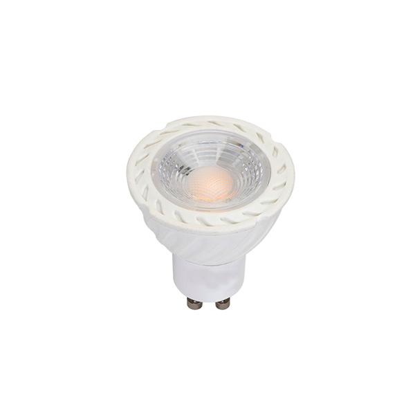 Lâmpada LED GU10 5W, Dicroica, Carcaça Branca, Bivolt - ANDELI