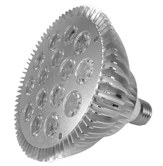 Lâmpada LED PAR38 18W E27 Bivolt