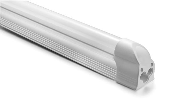 Lâmpada Tubular LED Com Suporte T5 18W 120cm Bivolt Leitosa