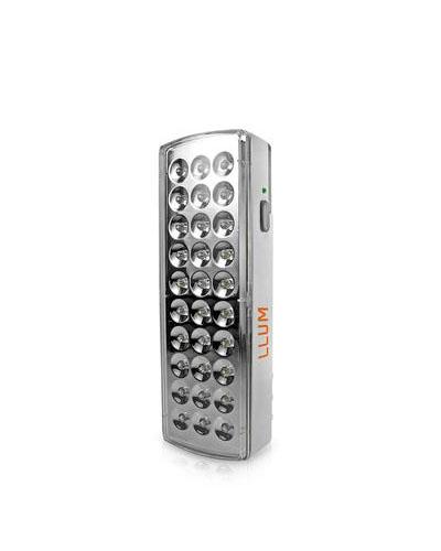 Luminária de Emergência LED 3W 30 LEDs - LLUM Bronzearte