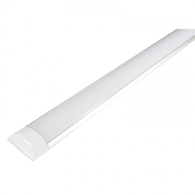 Luminária LED Tubular Slim de Sobrepor 38W 125cm Bivolt