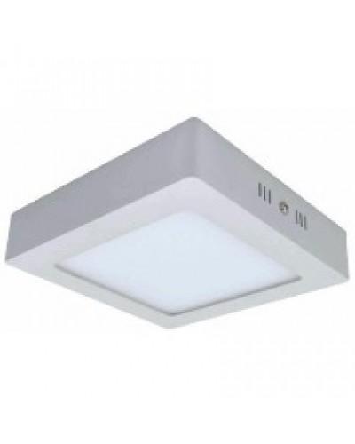 Luminária LED 12W Quadrada Para Sobrepor Bivolt
