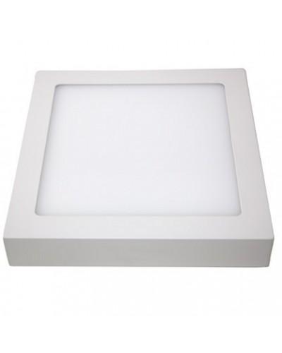 Luminária LED 18W Quadrada Para Sobrepor Bivolt (Painel LED)