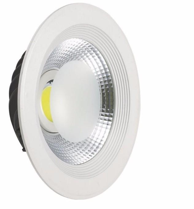 Luminária LED 20W Downlight Redonda de Embutir Bivolt