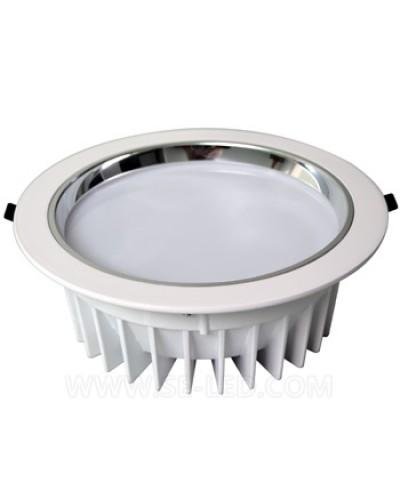 Luminária LED de Embutir Redonda 30W Bivolt Profissional Downlight