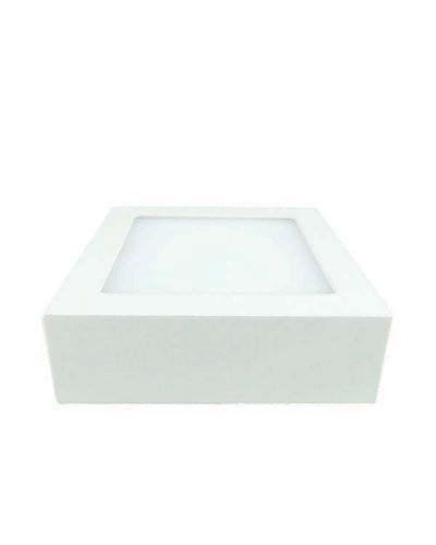 Luminária LED 6W Quadrada Para Sobrepor Bivolt