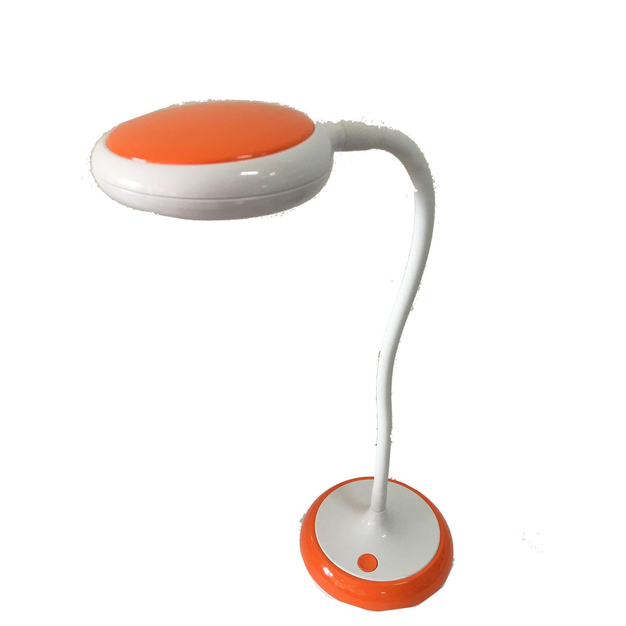 Luminária LED Articulável para Mesa 5W Bivolt Laranja