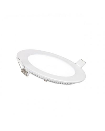 Luminária LED Slim 12W Redonda Para Embutir Bivolt
