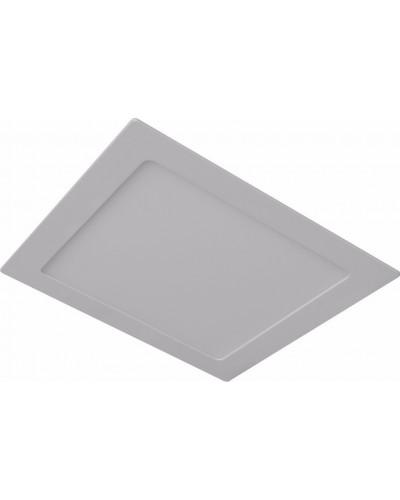 Luminária LED Slim 18Watts Quadrada Para Embutir