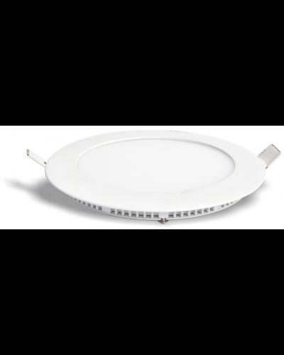 Luminária LED Slim 18W Redonda Para Embutir