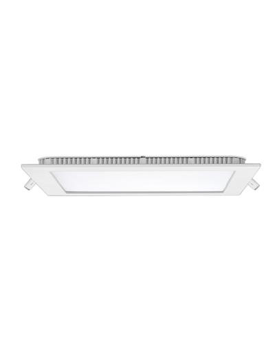 Luminária LED Slim 20Watts Quadrada Para Embutir
