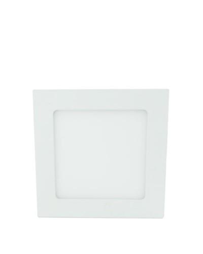 Luminária LED Slim 9Watts Quadrada Para Embutir