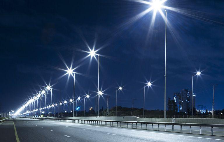 Luminária Pública LED Para Poste de Rua 50W IP65 Bivolt