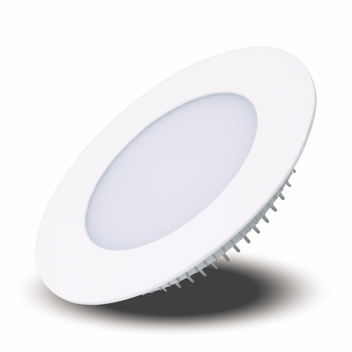 Luminária Slim LED 6W Downlight Redonda