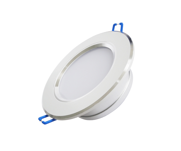 Luminária LED 12W Slim Downlight Redonda de Embutir