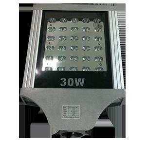 Luminária LED Pública Para Poste de Rua 30W 30LEDS Bivolt - Luz Branca
