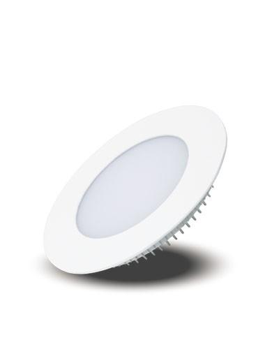 Luminária LED Redonda de Embutir 12W Bivolt Plafon LED Painel LED