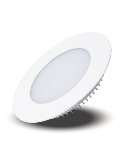 Luminária LED Redonda de Embutir 16W Bivolt Downlight