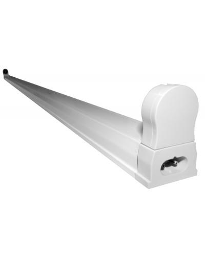 Luminária/Suporte para Lâmpada Tubular LED T8 120cm