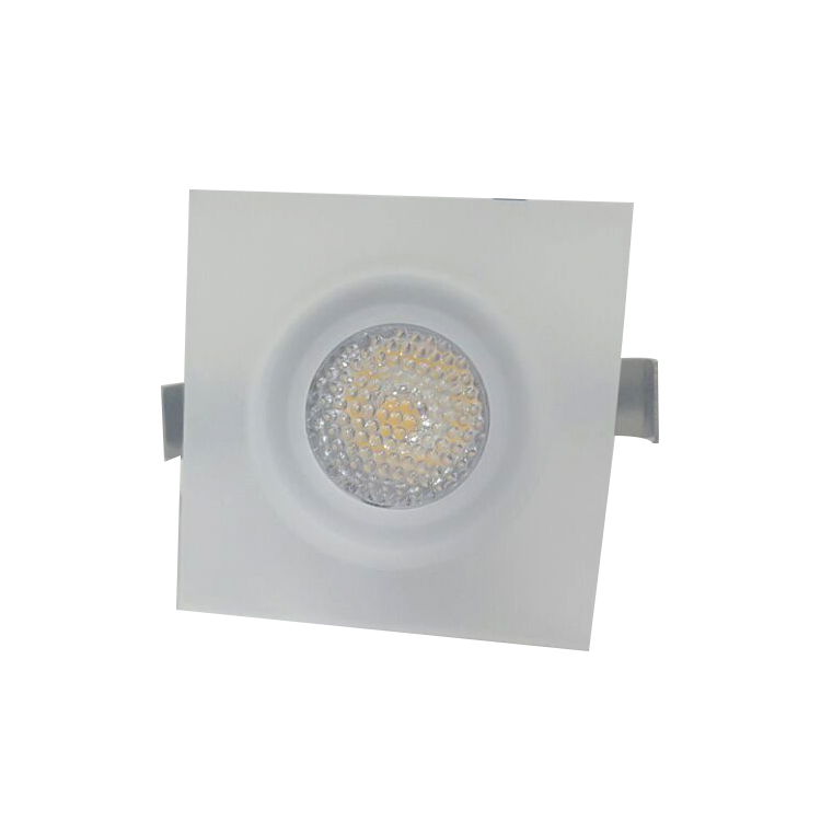 Mini Spot LED 1W Quadrado Embutir Bivolt