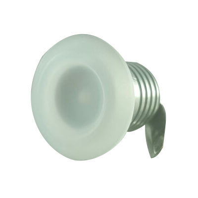 Mini Spot de LED Redondo 1w Bivolt Para Embutir em Móvel e Nichos