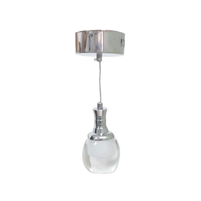 Pendente LED de Cristal Com Três Tons de Cores de Luz