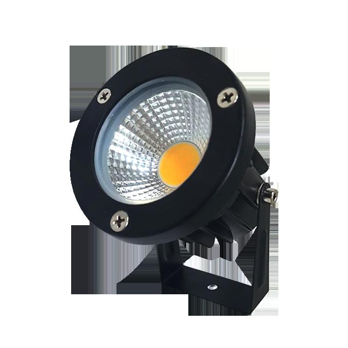 Spot de LED para Jardim 7W com Espeto de Fixação para Uso Externo