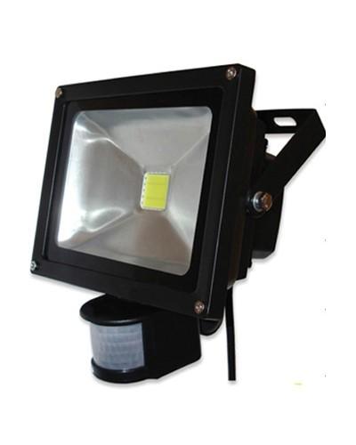 Refletor de LED com Sensor de Presença 35W Bivolt - Uso Externo IP66