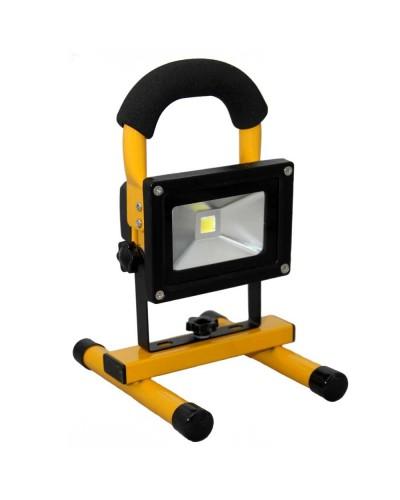 Refletor LED Portátil 20W para Camping Luz Branca