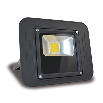 Holofote / Refletor de LED 30W (Potência Real) Bivolt Slim IP65