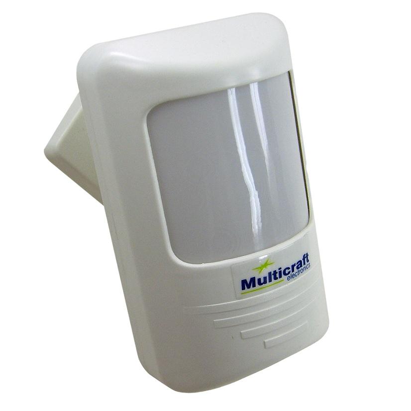 Sensor de Presença Bivolt MPL07 p/ Parede Timer e Fotocélula ajustável