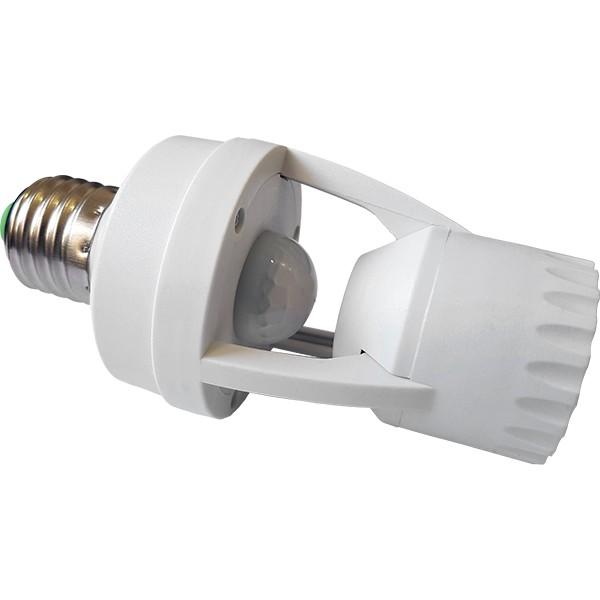 Soquete com Sensor de Presença MPL27 E27 até 60w Bivolt