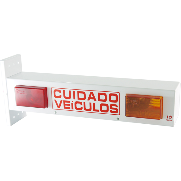 Sinalizador Garagem Bip LED Bivolt